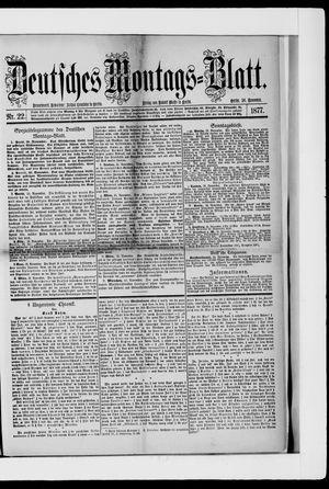 Berliner Tageblatt und Handels-Zeitung vom 26.11.1877