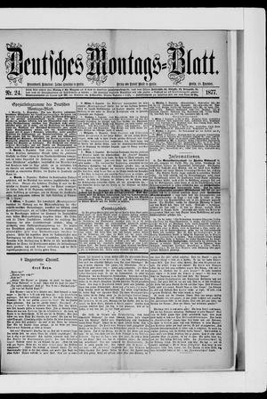 Berliner Tageblatt und Handels-Zeitung vom 10.12.1877