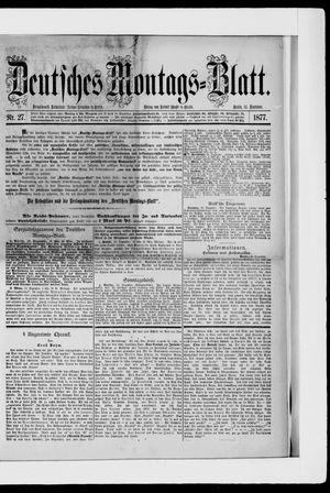 Berliner Tageblatt und Handels-Zeitung vom 31.12.1877