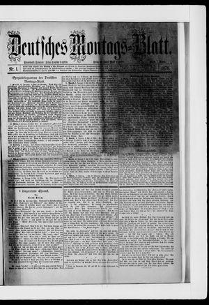 Berliner Tageblatt und Handels-Zeitung vom 07.01.1878