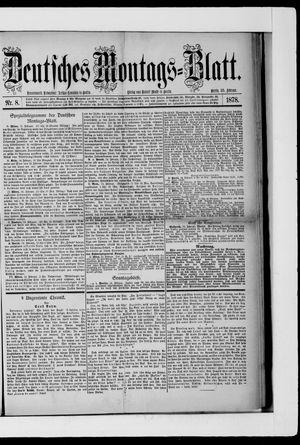 Berliner Tageblatt und Handels-Zeitung vom 25.02.1878
