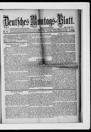 Berliner Tageblatt und Handels-Zeitung vom 25.03.1878