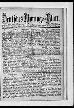 Berliner Tageblatt und Handels-Zeitung vom 27.05.1878