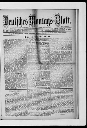 Berliner Tageblatt und Handels-Zeitung vom 03.06.1878