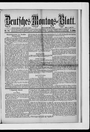 Berliner Tageblatt und Handels-Zeitung vom 17.06.1878