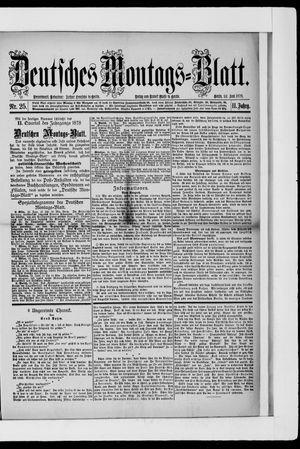 Berliner Tageblatt und Handels-Zeitung vom 24.06.1878
