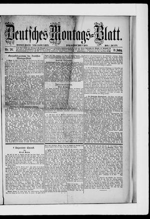 Berliner Tageblatt und Handels-Zeitung on Jul 1, 1878
