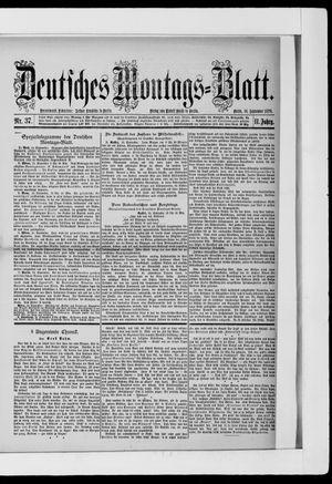 Berliner Tageblatt und Handels-Zeitung vom 16.09.1878