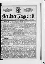 Berliner Tageblatt und Handels-Zeitung (22.09.1878)