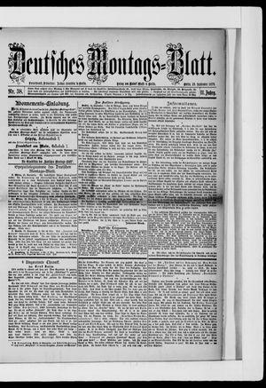 Berliner Tageblatt und Handels-Zeitung vom 23.09.1878