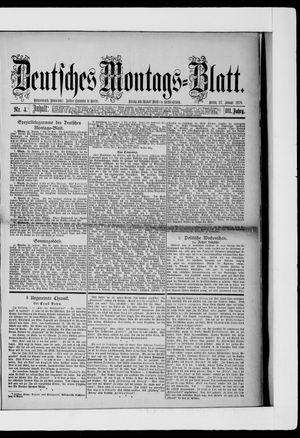 Berliner Tageblatt und Handels-Zeitung vom 27.01.1879