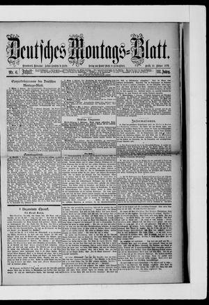 Berliner Tageblatt und Handels-Zeitung vom 10.02.1879