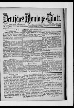 Berliner Tageblatt und Handels-Zeitung on Feb 17, 1879