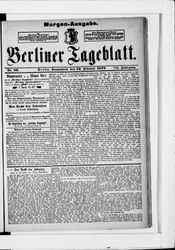 Berliner Tageblatt und Handels-Zeitung (22.02.1879)