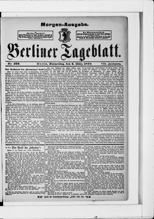 Berliner Tageblatt und Handels-Zeitung vom 06.03.1879