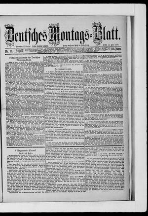 Berliner Tageblatt und Handels-Zeitung vom 21.04.1879