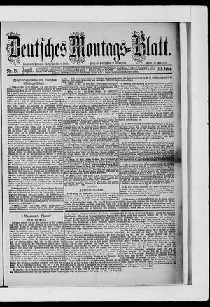 Berliner Tageblatt und Handels-Zeitung vom 12.05.1879