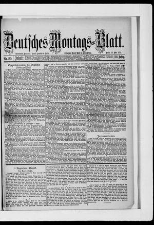 Berliner Tageblatt und Handels-Zeitung vom 19.05.1879