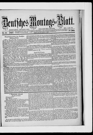 Berliner Tageblatt und Handels-Zeitung vom 09.06.1879