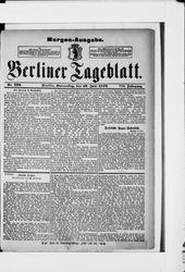 Berliner Tageblatt und Handels-Zeitung (19.06.1879)