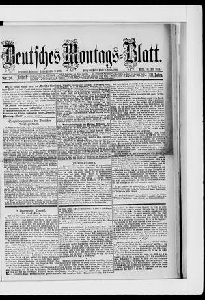 Berliner Tageblatt und Handels-Zeitung vom 30.06.1879