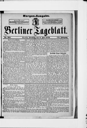 Berliner Tageblatt und Handels-Zeitung vom 08.07.1879