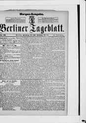 Berliner Tageblatt und Handels-Zeitung (22.02.1880)