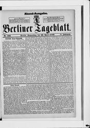 Berliner Tageblatt und Handels-Zeitung (22.04.1880)