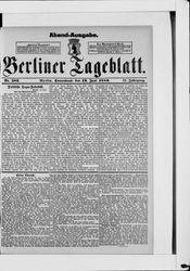 Berliner Tageblatt und Handels-Zeitung (19.06.1880)