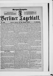 Berliner Tageblatt und Handels-Zeitung (20.08.1880)