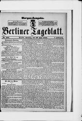 Berliner Tageblatt und Handels-Zeitung (19.06.1881)