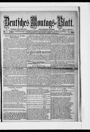 Berliner Tageblatt und Handels-Zeitung vom 16.01.1882