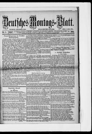 Berliner Tageblatt und Handels-Zeitung vom 30.01.1882