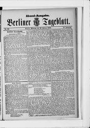 Berliner Tageblatt und Handels-Zeitung (22.02.1882)