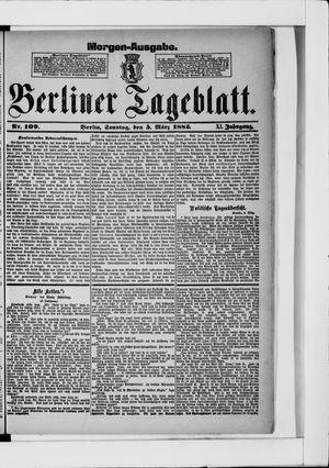 Berliner Tageblatt und Handels-Zeitung vom 05.03.1882