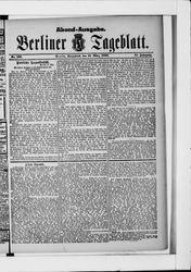 Berliner Tageblatt und Handels-Zeitung (18.03.1882)