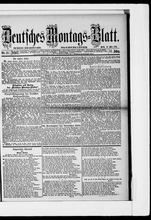 Berliner Tageblatt und Handels-Zeitung on Mar 20, 1882