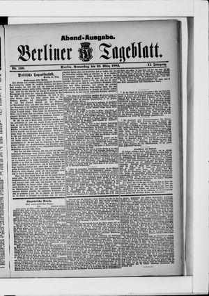 Berliner Tageblatt und Handels-Zeitung vom 23.03.1882