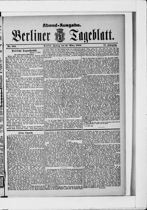 Berliner Tageblatt und Handels-Zeitung vom 31.03.1882