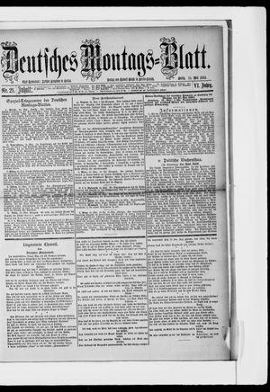 Berliner Tageblatt und Handels-Zeitung vom 22.05.1882