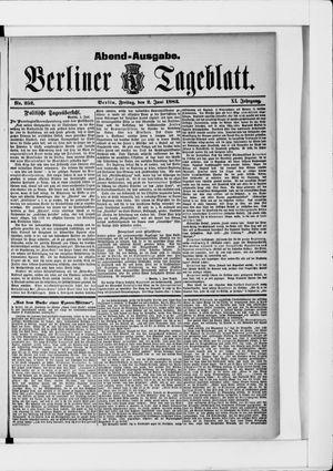 Berliner Tageblatt und Handels-Zeitung on Jun 2, 1882