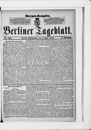 Berliner Tageblatt und Handels-Zeitung vom 03.06.1882