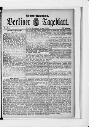 Berliner Tageblatt und Handels-Zeitung vom 05.06.1882