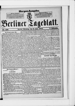 Berliner Tageblatt und Handels-Zeitung vom 06.06.1882