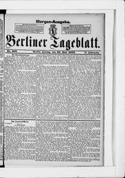 Berliner Tageblatt und Handels-Zeitung (23.06.1882)