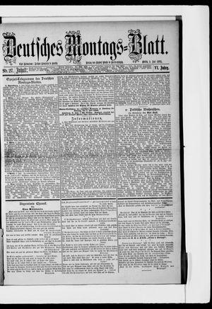 Berliner Tageblatt und Handels-Zeitung vom 03.07.1882