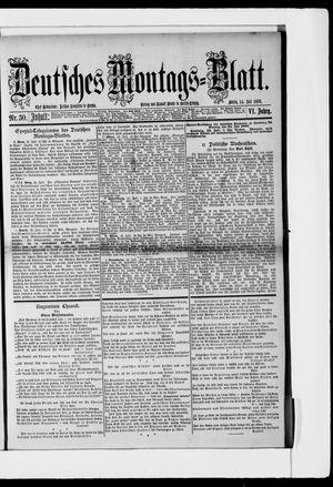 Berliner Tageblatt und Handels-Zeitung vom 24.07.1882