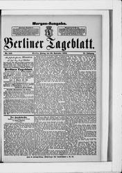 Berliner Tageblatt und Handels-Zeitung (22.09.1882)