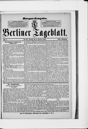 Berliner Tageblatt und Handels-Zeitung vom 05.01.1883