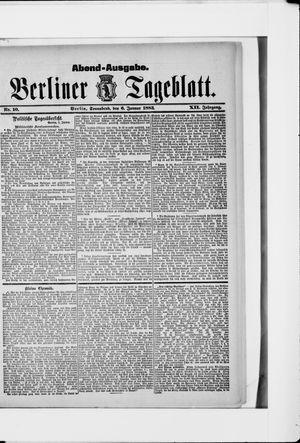 Berliner Tageblatt und Handels-Zeitung vom 06.01.1883